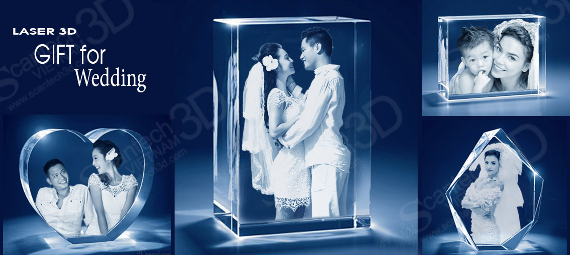 wedding 3d gifts