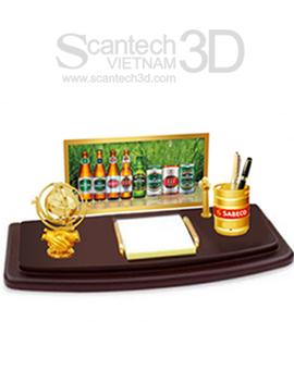Quà tặng để bàn mạ vàng cao cấp SBC-01