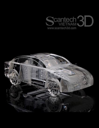 Mô hình ôtô Mercedes