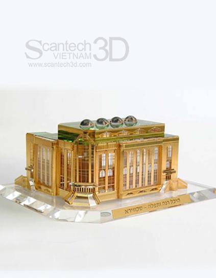 Mô hình kiến trúc tòa nhà HC