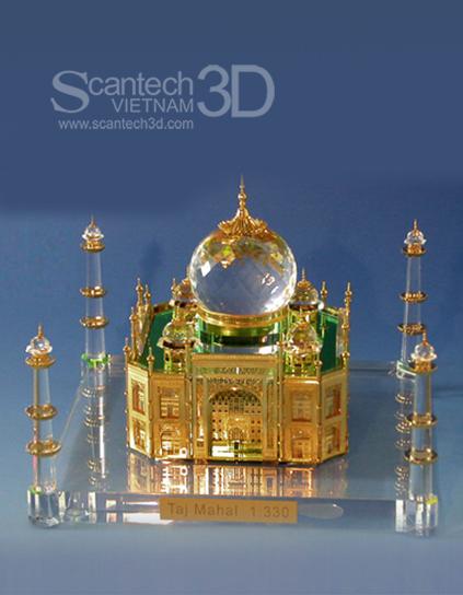 Mô hình Taj Mahal - India