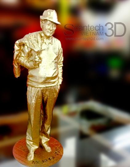 Quét 3D - In 3D Man thu nhỏ